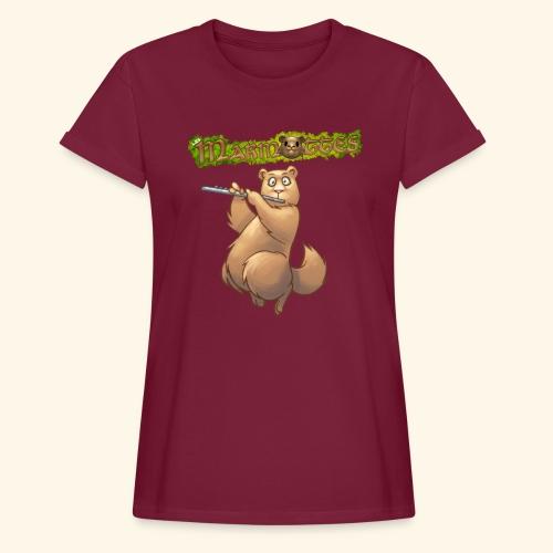 Tshirt Flute devant 2 - T-shirt oversize Femme