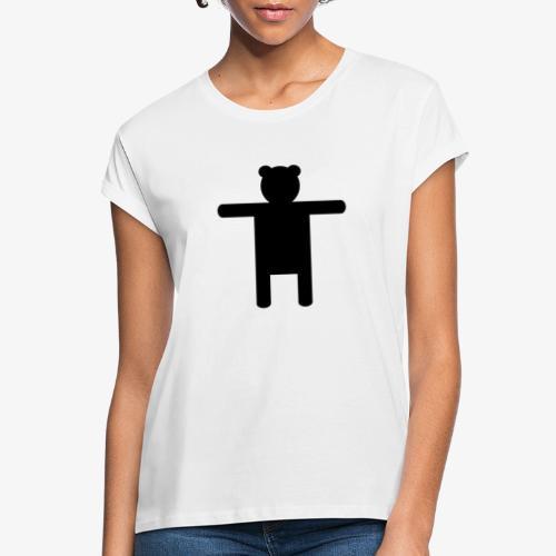 Epic Ippis Entertainment logo desing, black. - Women's Oversize T-Shirt