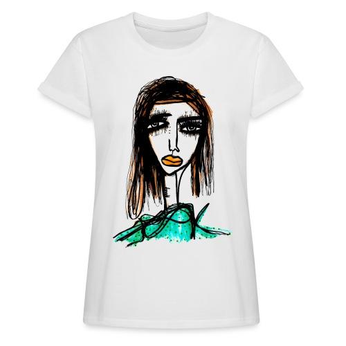 Long Lashes - Oversize-T-shirt dam
