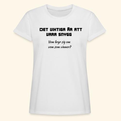 Snygg - Oversize-T-shirt dam
