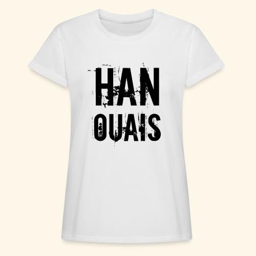 Han ouais basic tribunal charleroi - T-shirt oversize Femme