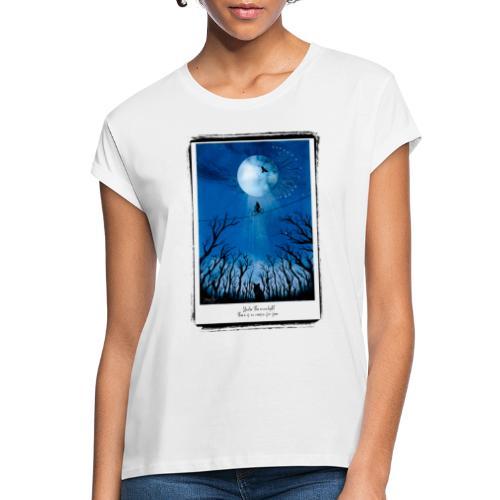 night frame 01 - Frauen Oversize T-Shirt