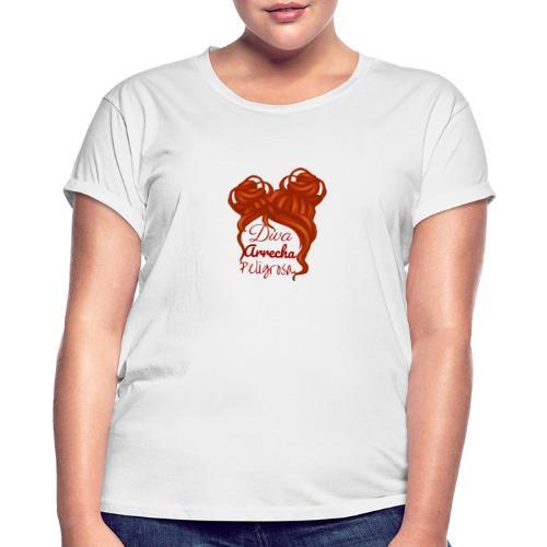 Diva - Camiseta holgada de mujer