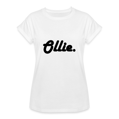 Ollie Harlow Solid - Vrouwen oversize T-shirt
