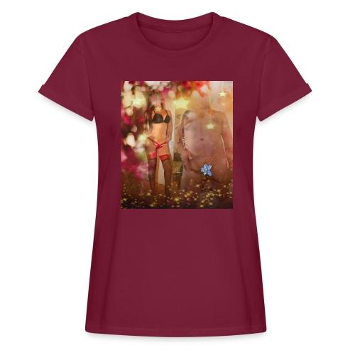 herbst Sinfonie - Frauen Oversize T-Shirt