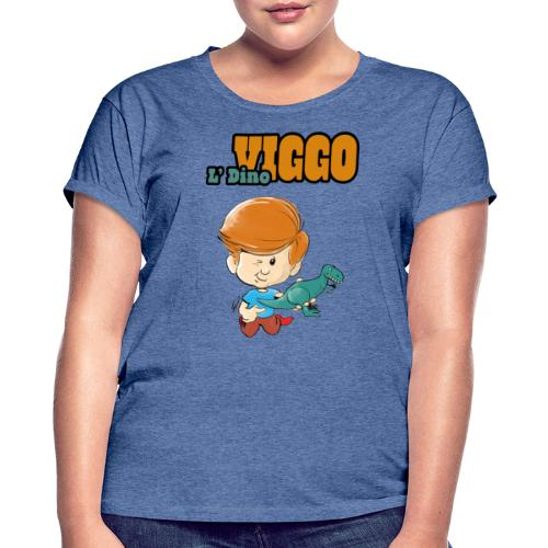 LDinoViggo Logo total - Dame oversize T-shirt