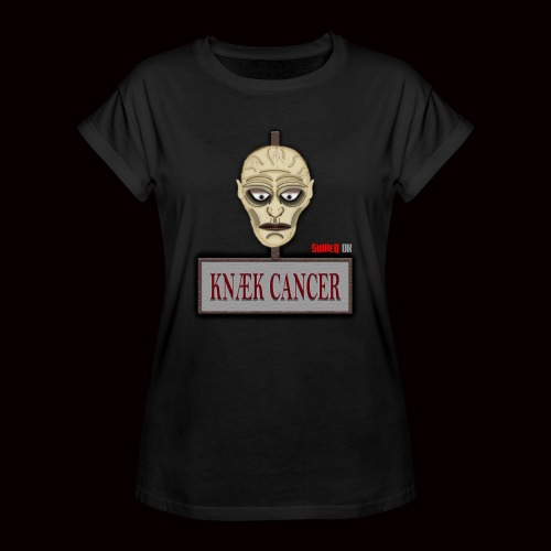 Knæk Cancer Kollektion ! - Dame oversize T-shirt