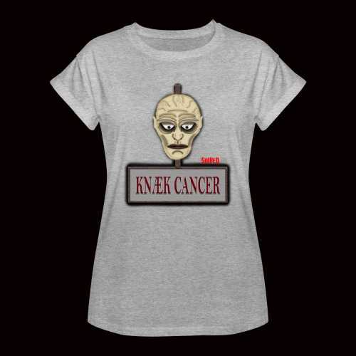 Knæk Cancer Kollektion ! - Dame oversize T-shirt