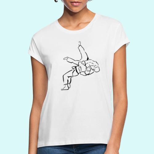 judo - T-shirt oversize Femme