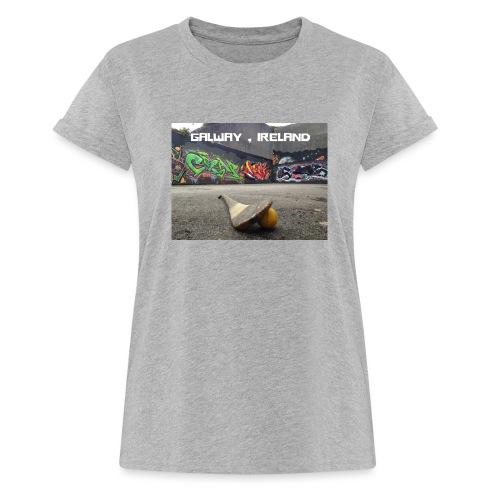 GALWAY IRELAND BARNA - Women's Oversize T-Shirt