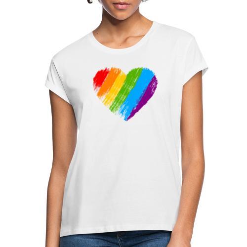 Pride, fram och bak, svart text - Oversize-T-shirt dam