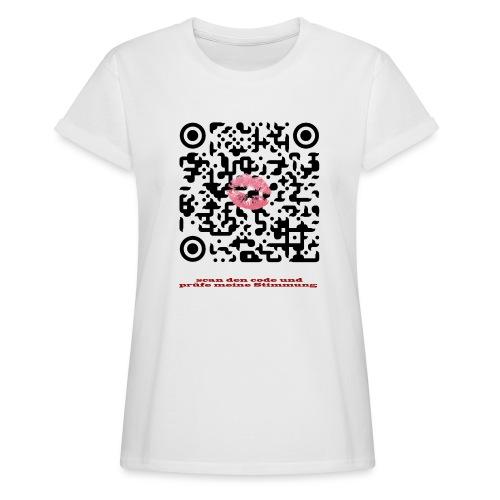 Stimmungsbarometer - Frauen Oversize T-Shirt
