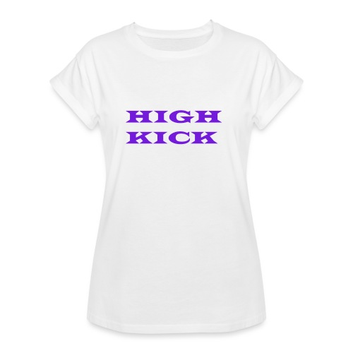 HIGH KICK HOODIE [LIMITED EDITION] - Women's Oversize T-Shirt