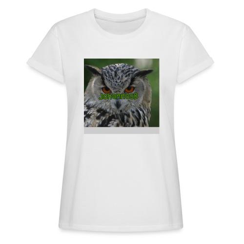 JohannesB lue - Oversize T-skjorte for kvinner