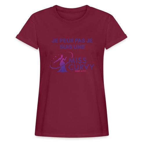 MISS CURVY Je peux pas - T-shirt oversize Femme