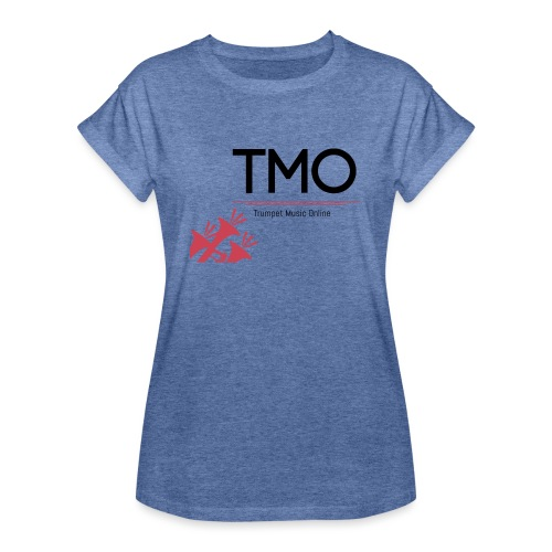 TMO Logo - Women's Oversize T-Shirt
