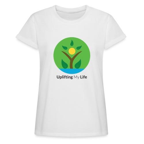 Uplifting My Life Official Merchandise - Women's Oversize T-Shirt