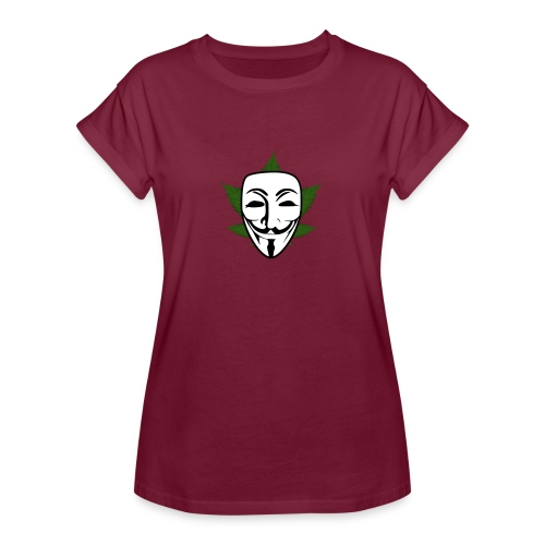 Anonymous - Vrouwen oversize T-shirt