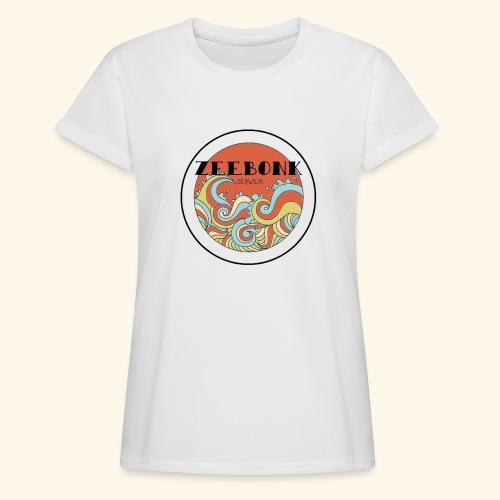 zeebonkwaves - Vrouwen oversize T-shirt