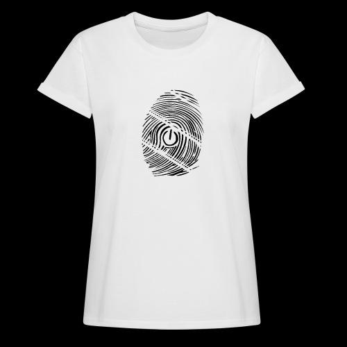 geek - T-shirt oversize Femme