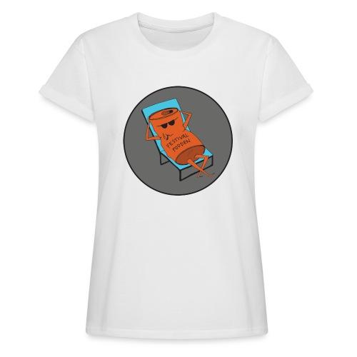 Festivalpodden - Loggan - Oversize-T-shirt dam