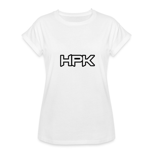 Het play kanaal logo - Vrouwen oversize T-shirt