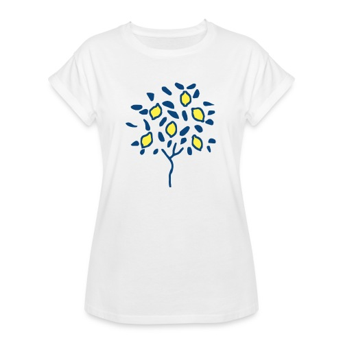 Citron - T-shirt oversize Femme