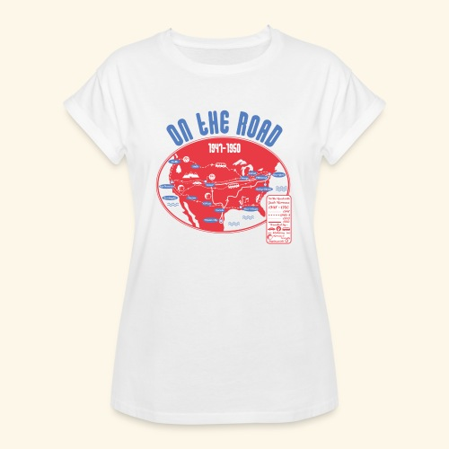 TShirtOntheRoad copy - Camiseta holgada de mujer