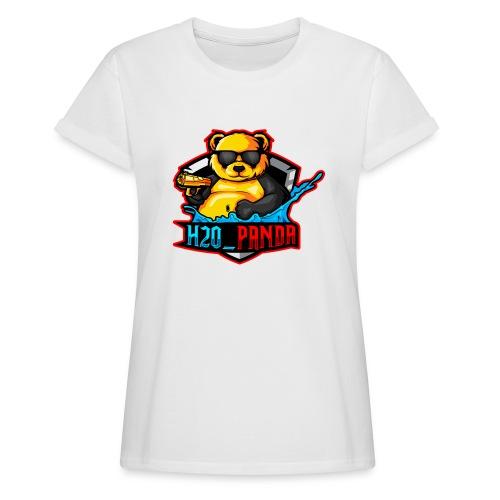 Pandas Loga - Oversize-T-shirt dam