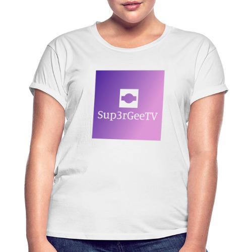 Sup3rGee - Dame oversize T-shirt