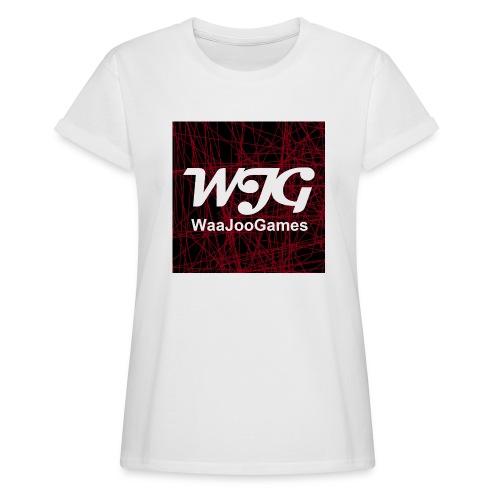 T-shirt WJG logo - Vrouwen oversize T-shirt