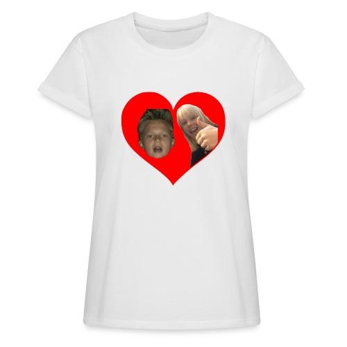 Sebber in love - Dame oversize T-shirt