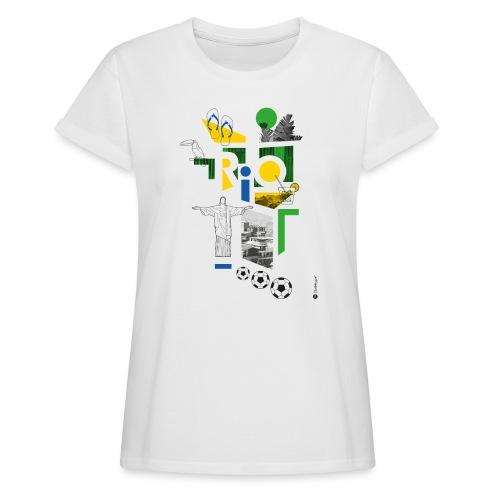 RIO - T-shirt oversize Femme