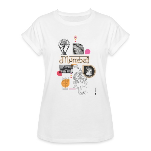 MUMBAI - T-shirt oversize Femme