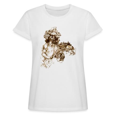 Bacchus 010 - Frauen Oversize T-Shirt