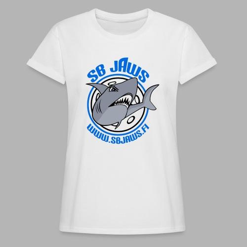 SB JAWS - Naisten oversized-t-paita