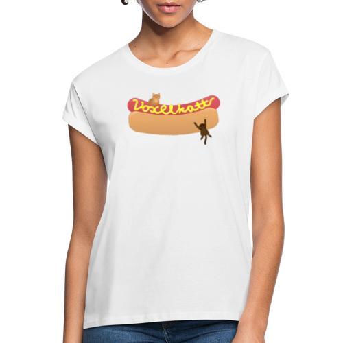 Voxelkorv - Oversize-T-shirt dam