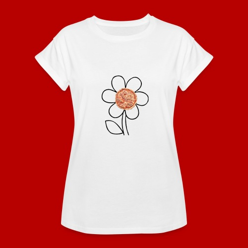 Pizzaflower Edition - Frauen Oversize T-Shirt