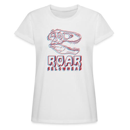 dinosaur - Frauen Oversize T-Shirt