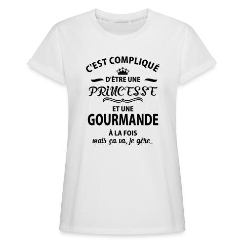 cxvxg - T-shirt oversize Femme