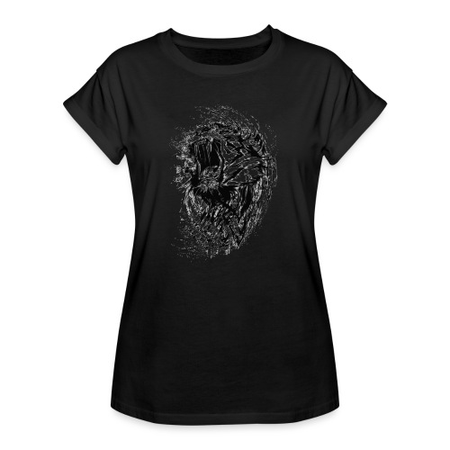 villikissa kuva - Naisten oversized-t-paita