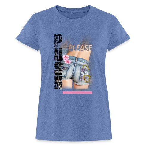 backgirl - Maglietta ampia da donna