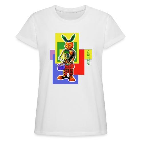 smARTkids - Slammin' Rabbit - Women's Oversize T-Shirt
