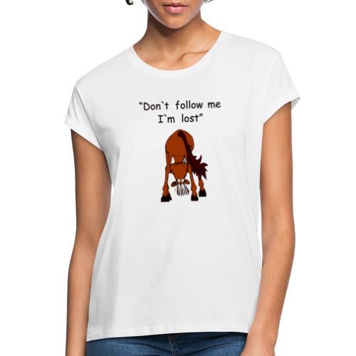 lost - Frauen Oversize T-Shirt