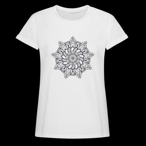 Mandala - Maglietta ampia da donna