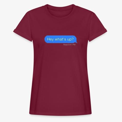 READAT - Women's Oversize T-Shirt
