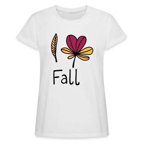Fall in love - Frauen Oversize T-Shirt