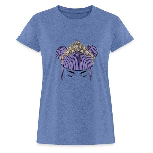 Queen girl - Camiseta holgada de mujer