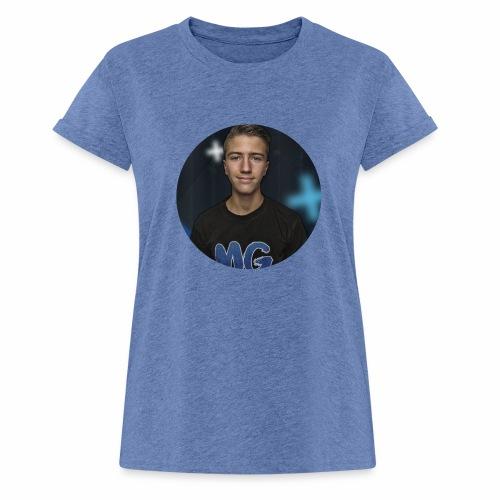Design blala - Vrouwen oversize T-shirt