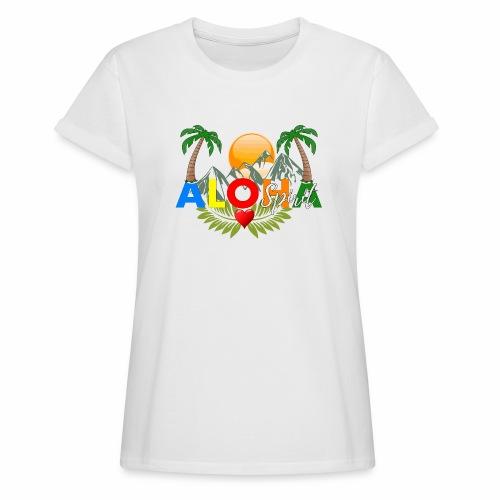 Aloha Spirit Tee - Frauen Oversize T-Shirt